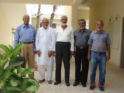 SAEEA Office Holders on August 01, 2011 Meeting