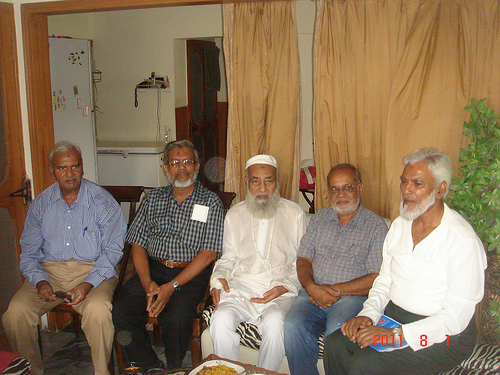 SAEEA Members with Mr Abdul Qadir