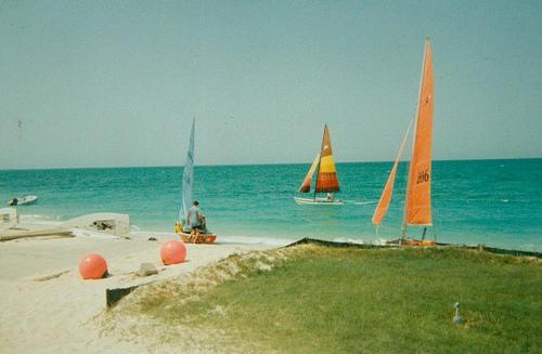 Sailing in Ras Tanura - 1994