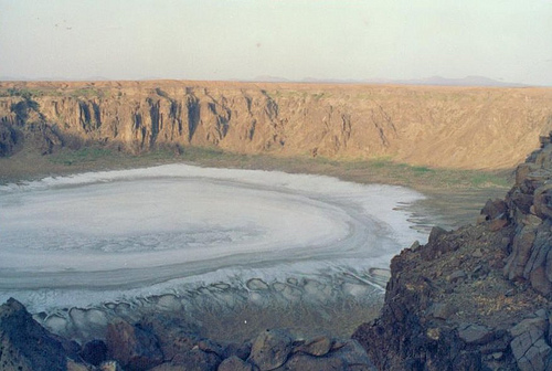 The Wabah Crater - 1992