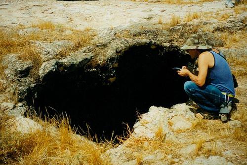 Caving Near Riyadh - 1996