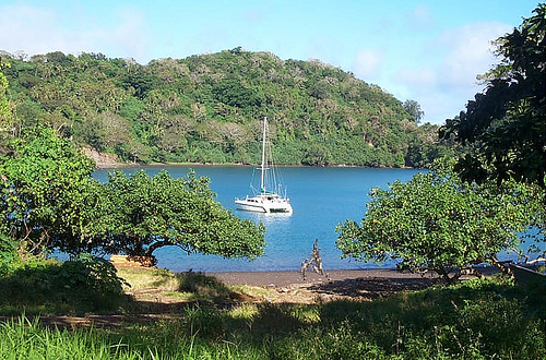 At Anchor in Lolowai, Vanuatu