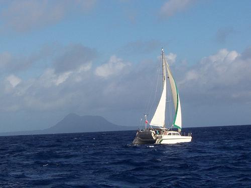 Sailing in Vanuatu