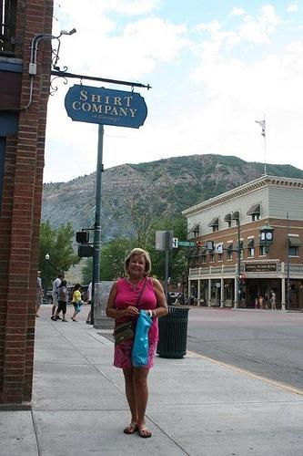 Sheila Stevens in Durango