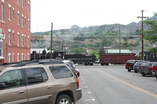 Trains in Durango