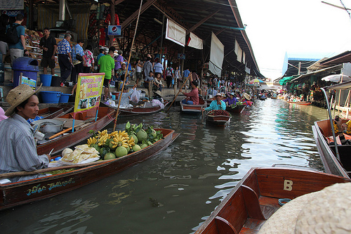 Bangkok's Floating Market