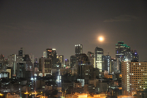 Moon Over Bangkok