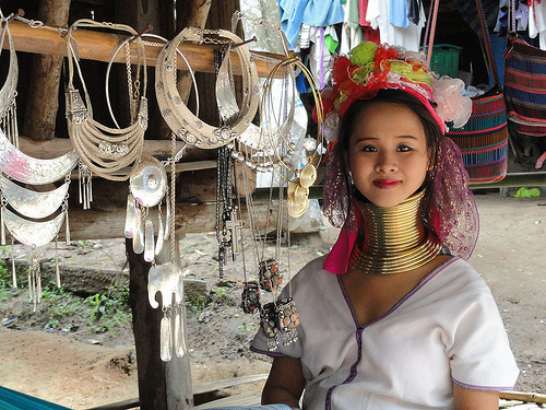 Long Neck Village Near Chang Mai
