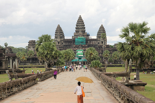 Ancient Temple of Angkor Wat