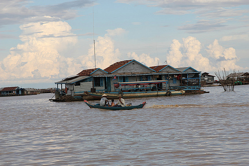 Floating Village of Siem Reap