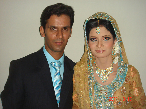 Imran Ali and Saba Naz