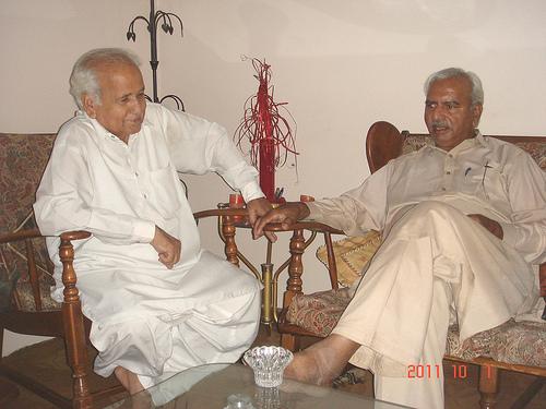 Farough Siddiqui and Ghulam Qutub Khan