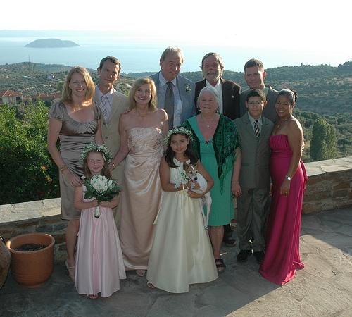 Family Photo with Turtle Island in the Background