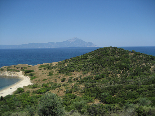 A View of Mt. Athos