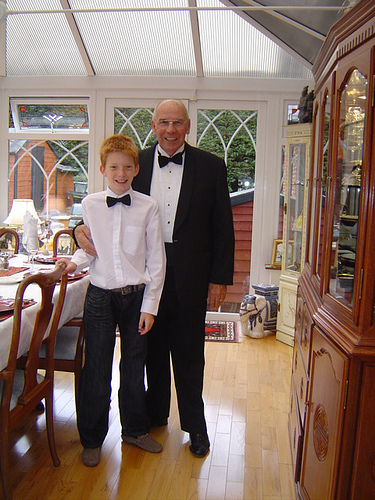 Tom Noland with Grandson, Nathan