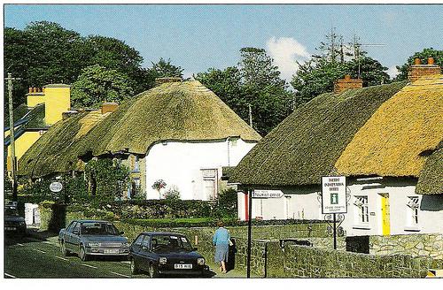 Local Village of Adare, County Limerick