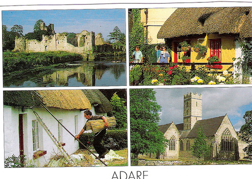 Postcards of Adare, County Limerick