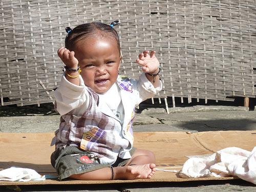 Dancing Nepali Baby at Ghandrung
