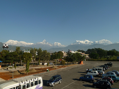 Our Final Annaupurna Views from the Pokhara Airport