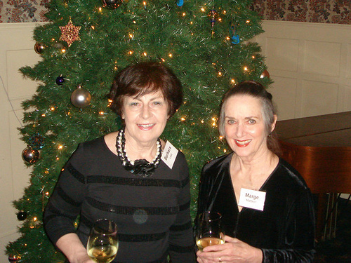 Barbara Loeb and Marge Mattson