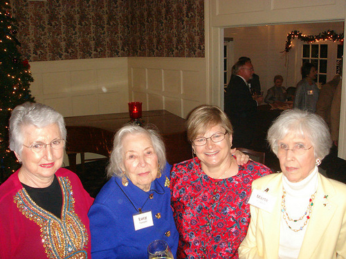 Bonnie App, Lucy Templer, Lynda Walters, Marte Powers
