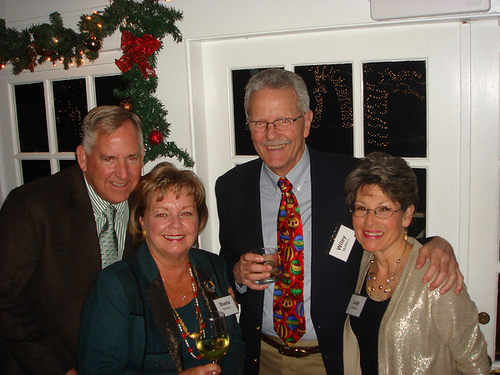 Ray and Sheila Stevens with Wiley and Judy McMinn