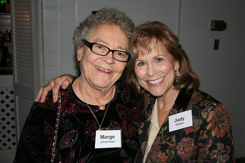 Marge Johansson and Judy Walker