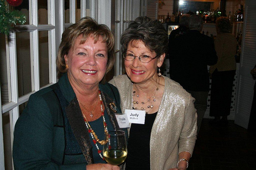 Sheila Stevens and Judy McMinn