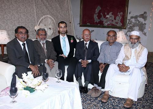 Ex-Aramcons at Saleem Wedding