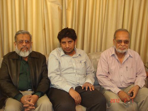 Iqbal Khan, Saad Azhar Ali, Mohammad Abdul Matin