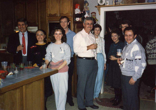 Aramco Drilling Department 1983 Trip to Syria