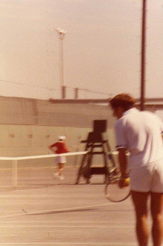 Dhahran Tennis Tournament 1980