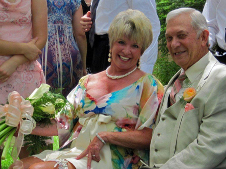 Lois Conklin Savery and Mel Savery