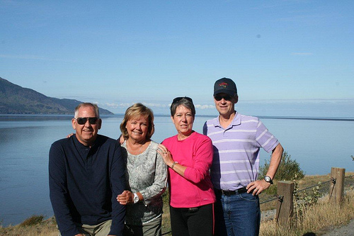 Ray and Sheila Stevens Visit Anchorage Alaska
