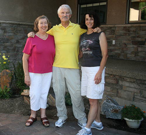 Jim and Donna Pugh Visit Beth Burdick