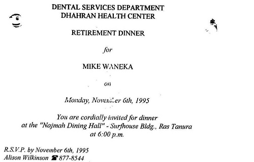 Mike Waneka Retirement 1995 (1)