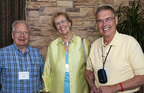 John LeSage, Mary & Duane Huetter