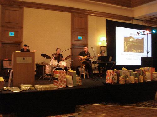 Gala banquet musicians