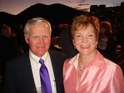 Hal and Marcia Barham