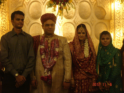 Saad Ali Hameed Marries Humera Rashid (2)