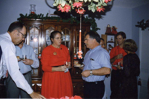 Stevens Christmas in Dhahran - 1993 (2)