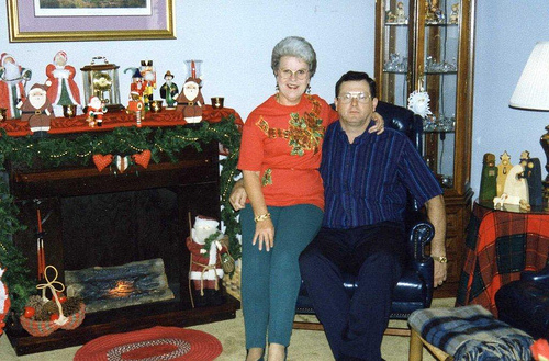 Stevens Christmas in Dhahran - 1993 (3)