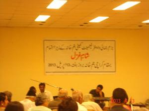 Sham-e-Ghazal in Karachi (3)