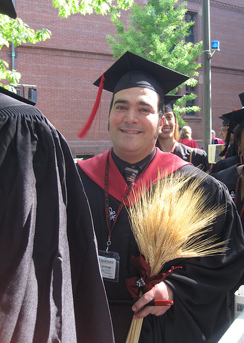 Marlon Robert Leon Banta receives Masters Degree with High Honors from Harvard (1)