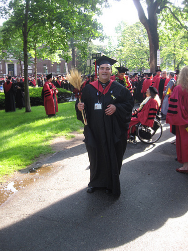 Marlon Robert Leon Banta Receives Masters Degree with High Honors from Harvard (3)