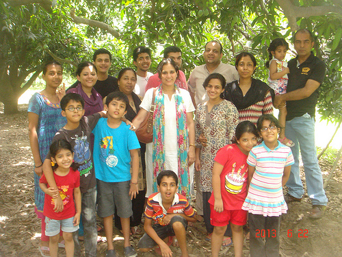Family Visit to India