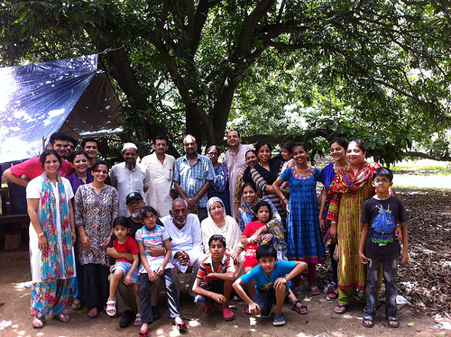 Family Visit to India (1)
