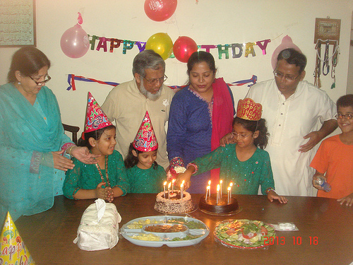 Mariam A. Rehman Celebrated her 8th Birthday