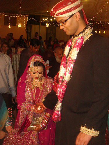 Fahad Ali Hameed marries Javeria Rashid (2)