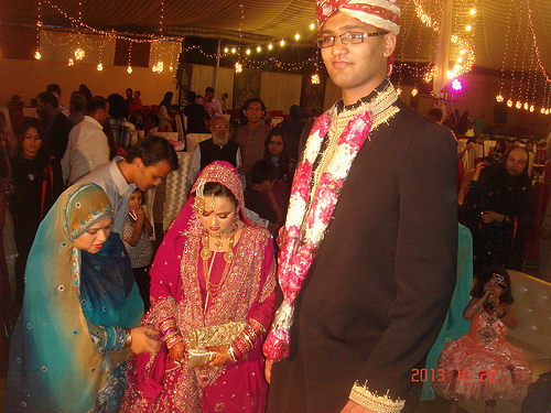 Fahad Ali Hameed marries Javeria Rashid (1)